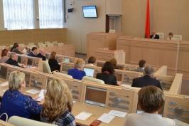 Состоялось пленарное заседание форума «Роль интеллигенции в развитии социальной сферы села»