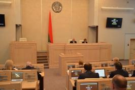 Третья сессия Совета Республики Национального собрания Республики Беларусь шестого созыва завершила работу