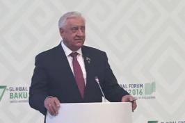 Михаил Мясникович принимает участие в Глобальном форуме Альянса цивилизаций ООН в Баку