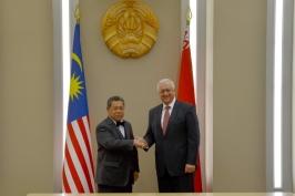 Председатель Совета Республики Мясникович М.В. встретился со Спикером Палаты представителей Парламента Малайзии Сери Пандикаром Амином Мулиа