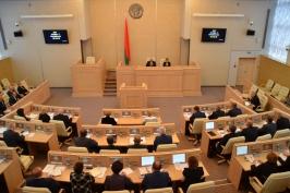 Начала работу третья сессия Совета Республики Национального собрания Республики Беларусь
