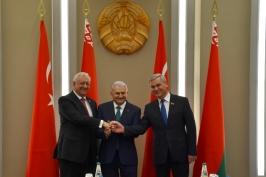 Встреча с Премьер-министром Турции прошла в Совете Республики