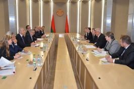 СТВ. Михаил Мясникович: Беларусь открыта для диалога и выяснения всех вопросов с миссией ПАСЕ