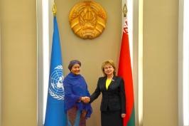 М.Щёткина: «Беларусь предлагает создать глобальную базу данных передового опыта достижения ЦУР»