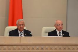 Выступление Председателя Совета Республики Мясниковича М.В. на закрытии десятой сессии Совета Республики пятого созыва