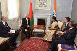 ОНТ. Беларусь готова к открытому сотрудничеству с Индией по всем направлениям