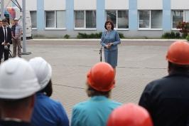 Н.Кочанова: встречи с людьми помогают лучше узнать, чем живут регионы