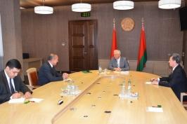 БТ. Михаил Мясникович встретился с послом Туркменистана