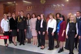 «Как председатель Совета Республики в быту живёт?» О чём спросили Наталью Кочанову на встрече с членами Союза женщин МВД