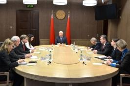 Председатель Совета Республики Мясникович М.В. встретился с заместителем председателя Германо-Белорусской парламентской группы Бундестага