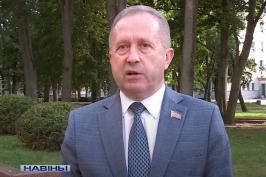 Ю.Наркевич обратился к жителям Брестской области