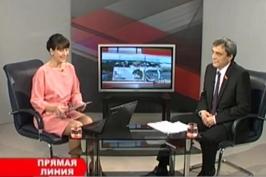 Прямая линия с В.Дроботовым на телеканале БТ-4 Витебск