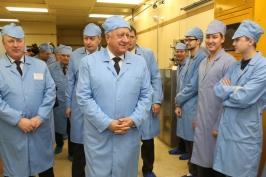 Председатель Совета Республики Национального собрания Республики Беларусь Мясникович М.В. посетил ОАО «Интеграл» — управляющая компания холдинга «Интеграл»