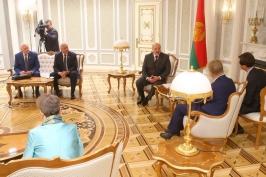 Cостоялась встреча Президента Республики Беларусь А.Г. Лукашенко с председателем Комитета регионов Европейского союза М. Марккулой